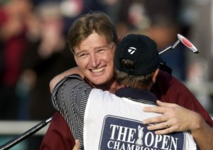 Ernie Els wins at Muirfield 2002